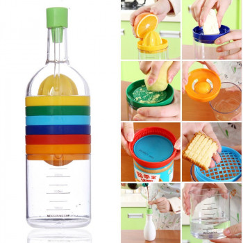 Кухонная бутылка 8-в-1