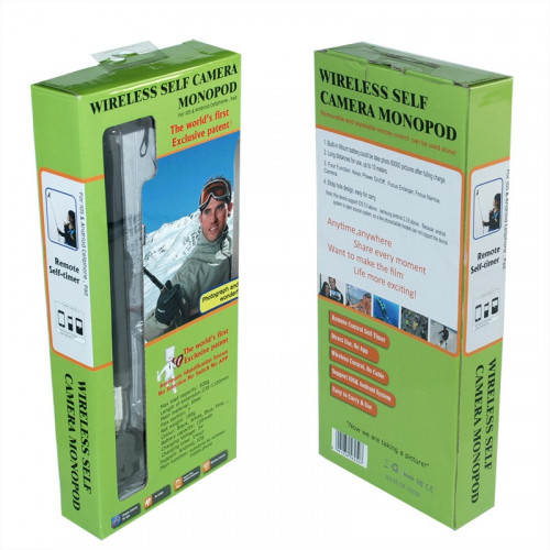 Ручной монопод Штатив для селфи Wireless Self Camera Monopod