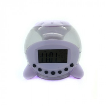 Часы-будильник с светомузыкой 809 NATURAL SOUND CALENDAR SV-002