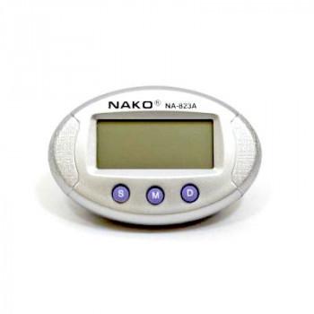 Электронные автомобильные часы с подсветкой/на липучке NA-823A