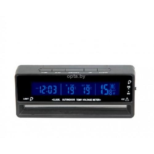Часы электронные светодиодные в авто VST-7010V