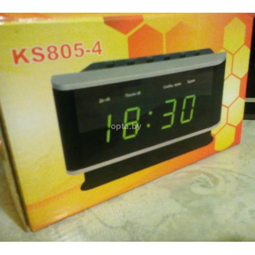 Настольные часы-термометр KS805-4