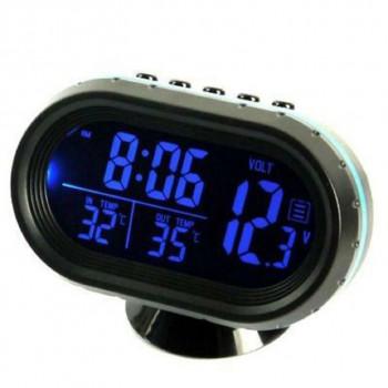Часы электронные светодиодные в авто VST7009V