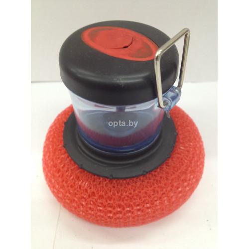 Губка для мытья посуды с дозатором BJ-903