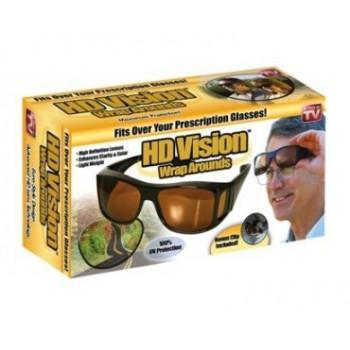 Защитные очки HD Night Vision (двойные)