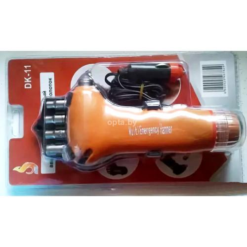 Многофункциональный аварийно-спасательный молоток (DK-11)