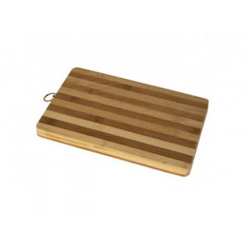 Бамбуковая доска кухонная 18х28см