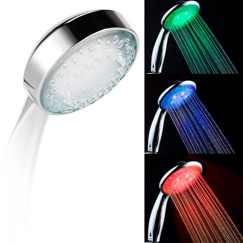 Светодиодная насадка для душа 8 Led Shower (S17)
