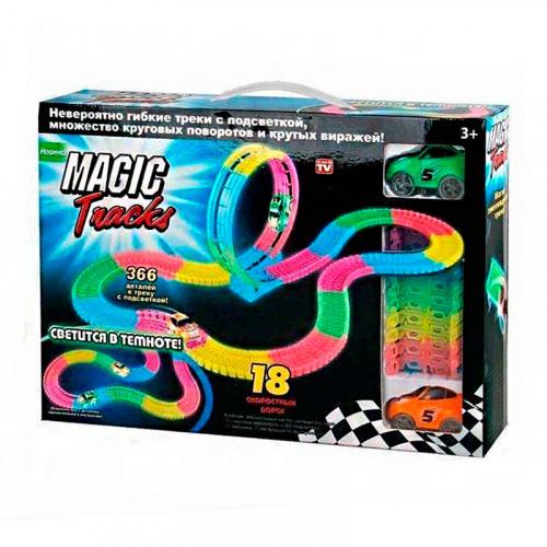 Набор Magic Tracks (366 деталей с подсветкой и петлей)