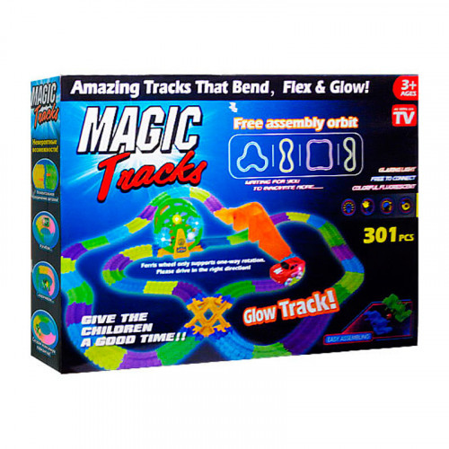 Конструктор Magic Tracks 301 деталей