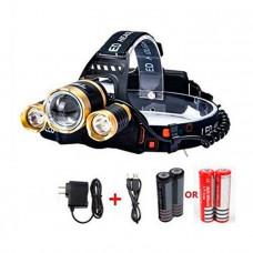 Налобный фонарь Hight Power Headlamp 3 х CREE T6