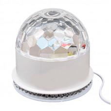 Светодиодный диско шар c USB - LED RGB Magic Ball Light  Bluetooth