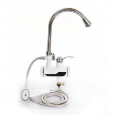 Электрический кран-водонагреватель с дисплеем и душем HY30-07