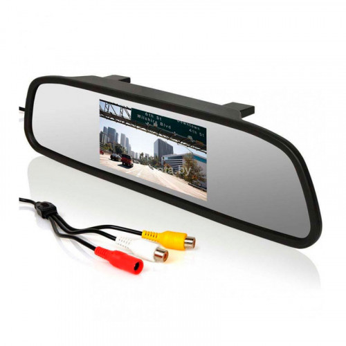 Камера заднего вида и монитор в зеркале 4.3-HY
