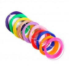 Пластик для 3D ручек 20 шт (20 цветов)