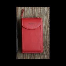Длинный женский кошелёк Baellerry Forever Originally from Korea (модель 1, красный)