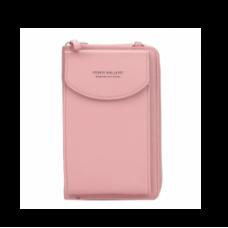 Длинный женский кошелёк Baellerry Forever Originally from Korea (модель 1, розовый)