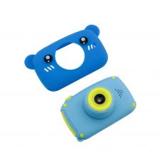 Детский цифровой фотоаппарат gsmin fun camera (мишка)