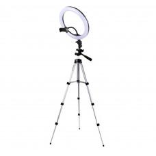 Кольцевая светодиодная лампа для селфи 26 см