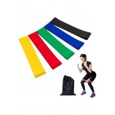 Фитнес-резинки без маркировки (только цвет)