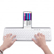 Клавиатура Xiaomi Miiiw Bluetooth dual mode keyboard 2.4GHz wireless connection 10m White
