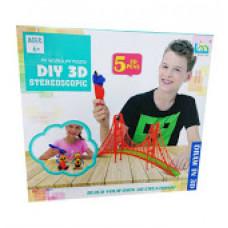 Набор 3D ручек DIY 3D Stereoscopic (5 цветов)