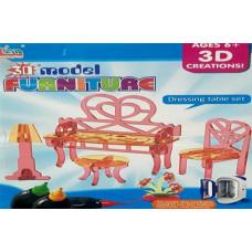 Набор для 3D моделей Dressing table set