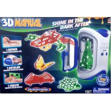 Набор для 3D моделей 3D MANUAL 6+ 1120/18