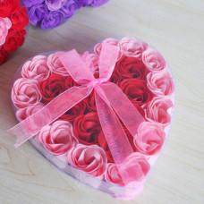 Набор мыло ароматизированное Роза (24 шт)