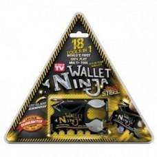 Wallet ninja 18 tools in 1