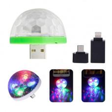 Лампа-светомузыка USB colorful neon lights Y-80