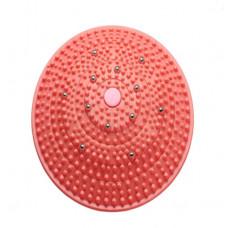 Массажный коврик с магнитами круглый