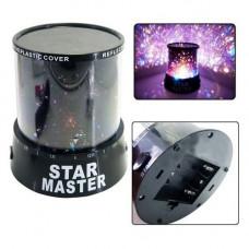 "Ночник проектор ""Звездное небо"" USB+адаптер STAR MASTER LED INTERCHANGING COLOURS"