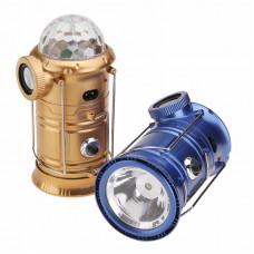 Кемпинговый фонарь+дискошар+динамик Magic Cool Camping Lights MX-6801