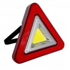 Фонарь автомобильный многофункциональный HS-8017 (треугольник)