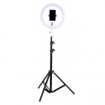 Кольцевая LED лампа 26 см + ШТАТИВ 2,1 метра