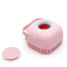 Щетка силиконовая для тела Silicone Massage Bath Brush