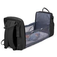 Рюкзак для мам+кроватка для малыша