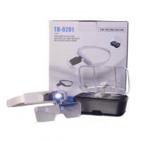 Лупа бинокулярные со светодиодной подсветкой TH-9201