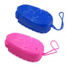 Щетка силликоновая Bubbles Bath Brush