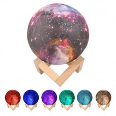 Ночник-светильник цветной с увлажнителем Humidifier Moon Lamp 13