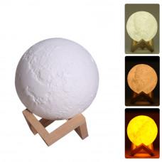 Ночник-светильник с увлажнителем Humidifier Moon Lamp 15 см
