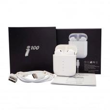 Беспроводные наушники I100 c USB-кабелем