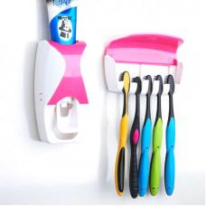 Автоматический дозатор для зубной пасты Automatic toothpaste squeezing device