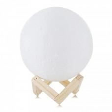 Ночник-светильник без Пультом  3D Moon Light 15 см