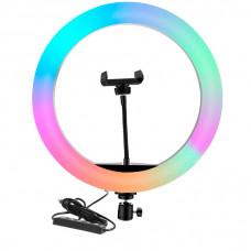 Светодиодная кольцевая лампа MJ-45 (цветные)