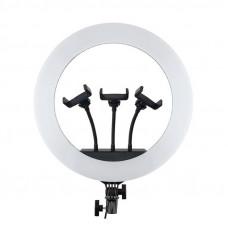 Светодиодная кольцевая лампа HQ 18 (45CM)