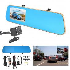 Зеркало заднего вида с видеорегистратором Vehicle Blackbox DVR Full HD 1080P