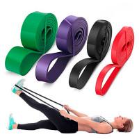 Набор фитнес-резинок Resistance bands 4 шт