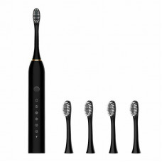 Электрическая Зубная щетка с насадками (4 насадки)